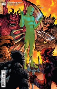 [Suicide Squad #7 (Cover B Kevin Maguire Card Stock Variant) (Product Image)]