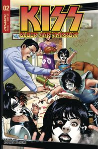 [Kiss: Blood & Stardust #2 (Cover C Sanapo) (Product Image)]