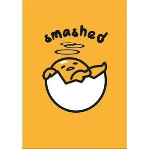 [Gudetama: Greeting Card: Smashed (Product Image)]