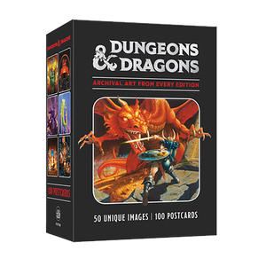 [Dungeons & Dragons: 100 Postcards Archival Art (Product Image)]