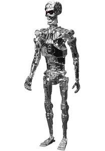 [Terminator: ReAction Figure: Chrome T-800 Endoskeleton (Product Image)]