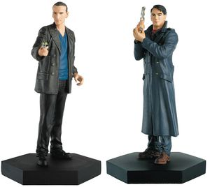 [Doctor Who Figurine Collection: Companion Set #5: Ninth Doctor & Jack Harkness (Product Image)]
