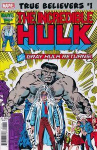 [True Believers: Hulk: Gray Hulk Returns #1 (Product Image)]