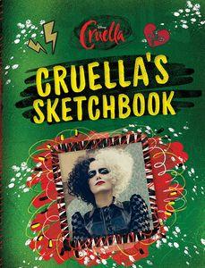 [Cruella's Sketchbook (Hardcover) (Product Image)]