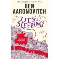 [Ben Aaronovitch signing Lies Sleeping (Product Image)]