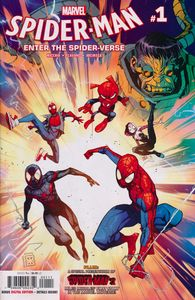 [Spider-Man: Into The Spider-Verse #1 (Product Image)]