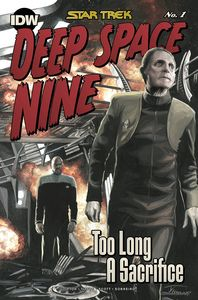 [Star Trek: Deep Space 9: Too Long A Sacrifice #1 (Woodward Variant) (Product Image)]