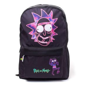[Rick & Morty: Printed Backpack: Rick Face (Product Image)]