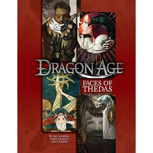 [Dragon Age: RPG Sourcebook: Faces Of Thedas (Hardcover) (Product Image)]