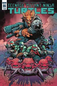 [Teenage Mutant Ninja Turtles: Ongoing #86 (Cover A Wachter) (Product Image)]