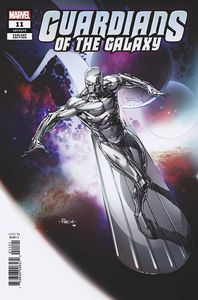 [Guardians Of The Galaxy #11 (Finch Silver Surfer Variant) (Product Image)]