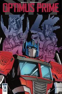 [Optimus Prime #14 (Cover B Coller) (Product Image)]