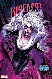 [Black Cat #11 (Land Marvel Zombies Variant) (Product Image)]