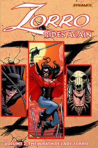 [Zorro Rides Again: Volume 2: Wrath Of Lady Zorro (Product Image)]