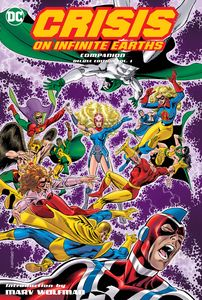 [Crisis On Infinite Earths: Companion: Volume 1 (Deluxe Edition - Hardcover) (Product Image)]