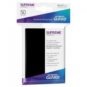 [Supreme UX Sleeves: Standard Size: Black (Product Image)]