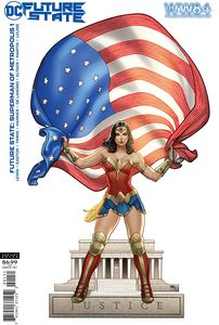 [Future State: Superman Of Metropolis #1 (Cover D Wonder Woman 1984 frank Cho Card Stock Variant) (Product Image)]