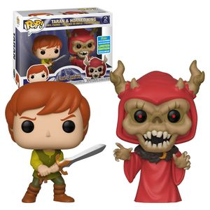 [Disney: The Black Cauldron: Pop! Vinyl Figure 2-Pack: Taran & Horned King (2019 Summer Convention Exclusive) (Product Image)]