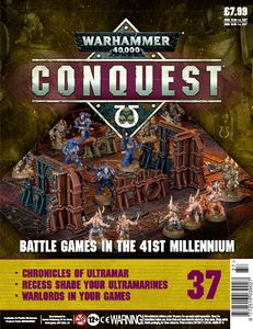 [Warhammer 40K: Conquest: Figurine Collection #37 (Product Image)]