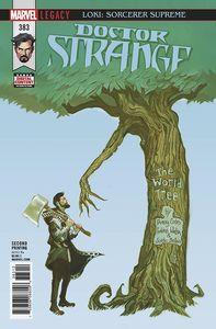 [Doctor Strange #383 (2nd Printing Del Mundo Variant) (Legacy) (Product Image)]