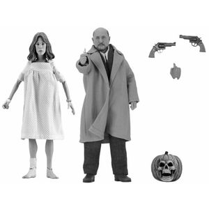 [Halloween 2: Clothed Action Figure 2-Pack: Doctor Loomis & Laurie Strode (Product Image)]