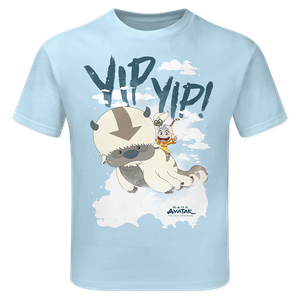 [Avatar: The Last Airbender: Children's T-Shirt: Yip Yip! (Product Image)]