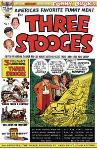 [AM Archives: The Three Stooges #1 (1953 Saint John Edition) (Product Image)]