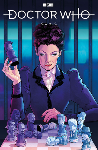 [The cover for Doctor Who: Missy #1 (Cover A Busian)]