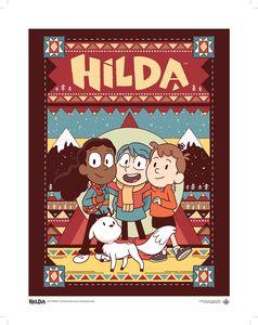 [Hilda: Art Print: Hilda & Friends (Product Image)]