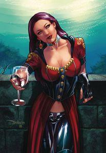 [Van Helsing Vs Draculas Daughter #3 (Cover C Santacruz) (Product Image)]
