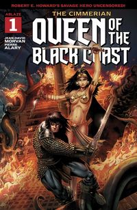 [The cover for Cimmerian: Queen Of The Black Coast #1 (Cover A Jason Metcalf)]