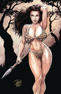 [Cavewoman: Badlands (One Shot Cover D Budd Root) (Product Image)]