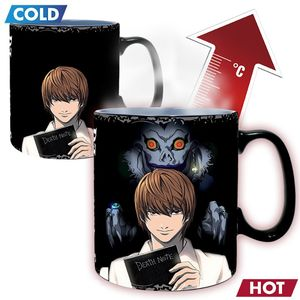 [Death Note: Heat Change Mug: Kira & L (Product Image)]