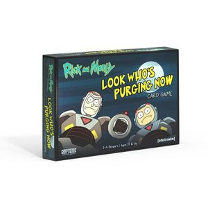 [Rick & Morty: Look Who's Purging Now Card Game (Product Image)]