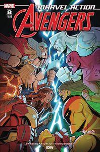 [Marvel Action: Avengers #8 (Sommariva) (Product Image)]