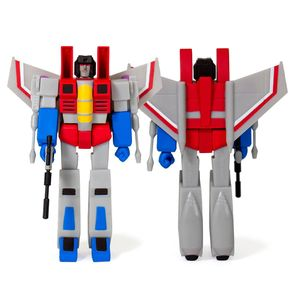 [Transformers: ReAction Action Figure: Starscream (Product Image)]