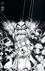 [Spawn Kills Everyone Too #3 (Cover B Black & White Virgin Mcfarlan) (Product Image)]