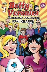 [Betty & Veronica: Friends Forever: All Relative #1 (Product Image)]