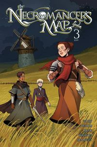 [The cover for Necromancers Map #3]