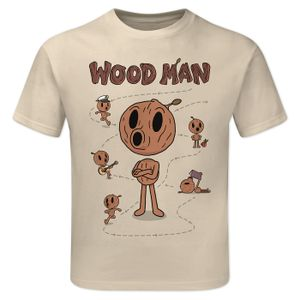 [Hilda: Children's T-Shirt: Wood Man (Product Image)]