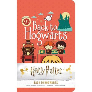 [Harry Potter: Ruled Pocket Journal: Back To Hogwarts (Product Image)]