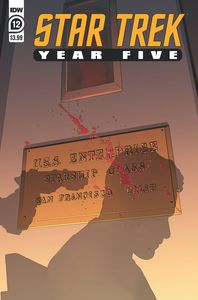 [Star Trek: Year Five #12 (Cover A Thompson) (Product Image)]