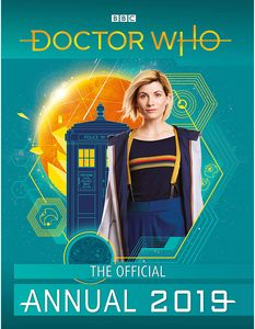 [DoctorWho: OfficialAnnual2019 (Product Image)]