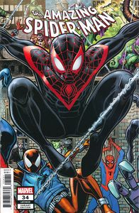 [Amazing Spider-Man #34 (A Adams 8-Part Connecting Variant 2099) (Product Image)]