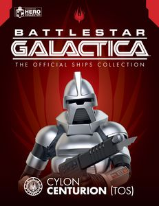 [Battlestar Galactica Ships Special Magazine #2: Centurion Figurine Classic (Product Image)]