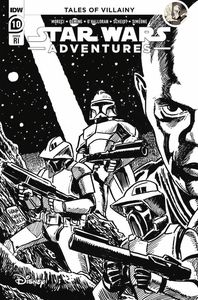 [Star Wars: Adventures (2021) #10 (Francavilla Black & White Variant) (Product Image)]