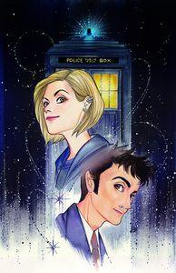 [Doctor Who Comics #2 (Forbidden Planet Exclusive Momoko Virgin Variant) (Product Image)]