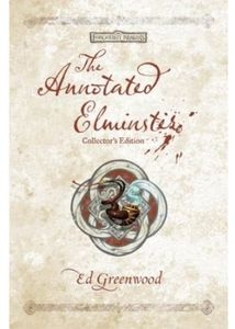 [Forgotten Realms: The Annotated Elminster: Collector's Edition (Product Image)]