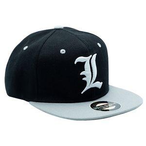 [Death Note: Snapback Cap: L Symbol (Product Image)]