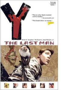 [Y The Last Man: Volume 1: Unmanned (Product Image)]